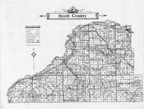 Scott County Map, Scott County 1911c